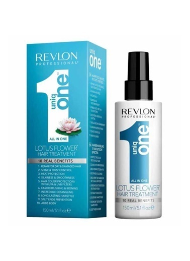Revlon Revlon Uniq One All İn 1 Lotus Flower Saç Bakım Spreyi 150 Ml Renksiz